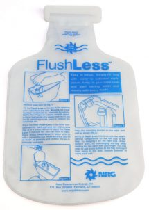Flush Less Water Saver Displacement Bag