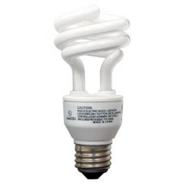GE Energy Efficient Compact Fluorescent Light Bulb