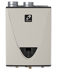 Takagi Condensing High Efficiency Tankless Gas Indoor Water Heater