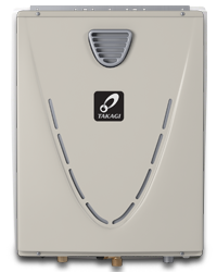 Takagi Natural Gas Outdoor Condensing Tankless Water Heater